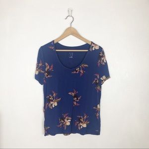 A New Day short sleeve floral tee